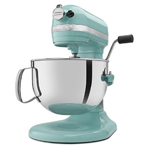 Kitchenaid 600 STAND MIXER 6 Quart KP26M1XAQ Martha Stewart Aqua Sky Color Tiffany Blue 並行輸入