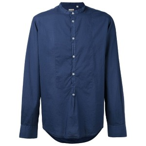 Massimo Alba - collarless shirt - men - コットン - M