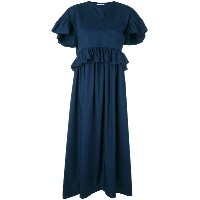 Vivetta - ruffled maxi dress - women - コットン - 40