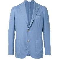 Boglioli - two-button blazer - men - キュプロ/カシミア - 48