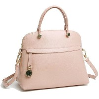 フルラ FURLA 【PIPER M DOME】 2WAY ハンドバッグ MOONSTONE (ベージュピンク) 851236 B BFK9 ARE 6M0 【Luxury Brand Selecti