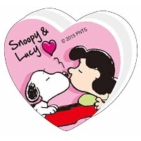 SNOOPY WITH MUSIC スヌーピー 楽譜クリップ (ハート/ピンク)