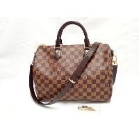 LOUIS VUITTON ルイヴィトン ダミエ スピーディ・バンドリエール30 N41367【中古美品】【ルイヴィトン】【ダミエ】【スピーディ】【バンドリエール】【N41367】