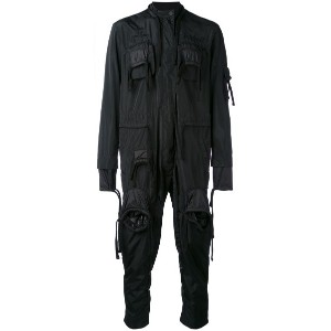 KTZ - fringe detail jumpsuit - men - ポリエステル - M
