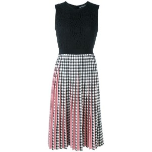 Marco Bologna - gingham dress - women - ポリエステル - 40