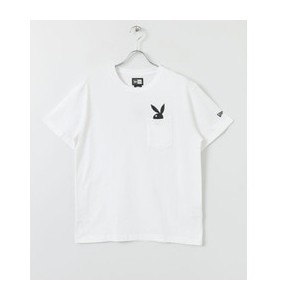 Sonny Label New Era×PLAYBOY CottonPocketT-Shirts【アーバンリサーチ/URBAN RESEARCH Tシャツ・カットソー】