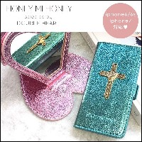 ハニーミーハニー HONEY MI HONEY crossheart iPhone BOOKcoincase クロスハートiPhoneブックケース iPhone iPhone6/6S iPhone7...