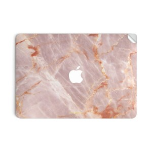 UNIQFINDユニークファインド MacBook Air/Pro 13インチ スキンシール/保護シール Blush Marble【ipad Air mini Pro Apple macbook...