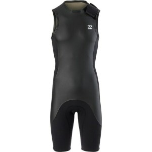 ビラボン レディース ボトムのみ スイムウェア Billabong 202 Revolution Re-Issue Sleeveless Spring Wetsuit - Men's Black