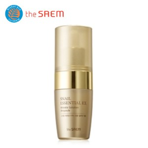 [The SAEM/ザセム]カタツムリエッセンシャルEXリンクルソリューションアンプル/ Snail Essential EX Wrinkle Solution Ampoule/韓国コスメ/ザセムの直