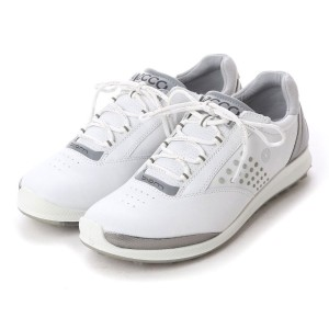 エコー ECCO ECCO WOMEN'S GOLF BIOM HYBRID 2 (WHITE/BUFFED SILVER) レディース