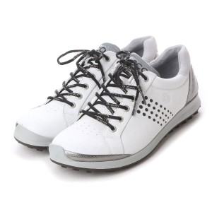 エコー ECCO ECCO MEN'S GOLF BIOM HYBRID 2 (WHITE/BLACK) メンズ