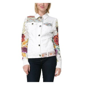 デシグアル Desigual CHAQ_EXOTIC WHITE (DENIM NATURE)