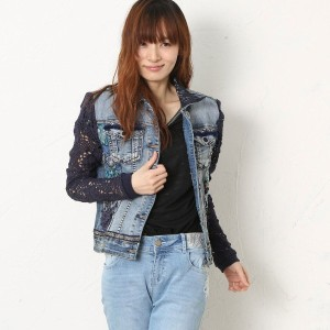 デシグアル Desigual CHAQ_EXOTIC (DENIM MEDIUM WASH)