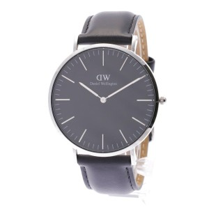 【SALE 35%OFF】ダニエル ウェリントン Daniel Wellington CLASSIC BLACK Sheffield Silver 40mm (BLACK)