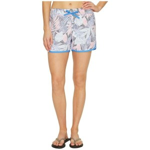 コロンビア Columbia レディース 水着 ボトムのみ【Cool Coast II Shorts】Harbor Blue Tropical Dots
