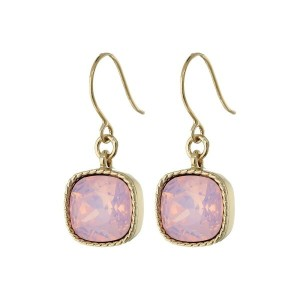 ニナ Nina レディース アクセサリー イヤリング・ピアス【Perla Opal Crystal Drop Earrings】Gold/Rose Water Opal Swarovski