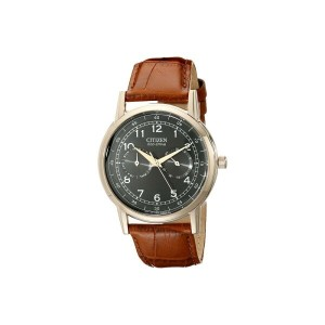 シチズン メンズ 財布・時計・雑貨 腕時計【AO9003-08E Eco-Drive Rose Gold Tone Day-Date Watch】Rose Gold Tone Stainless...