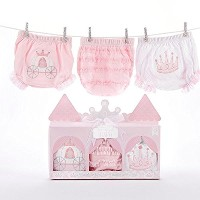 Baby Aspen Her Royal Hineys Set of Three Bloomers by Baby Aspen [並行輸入品]