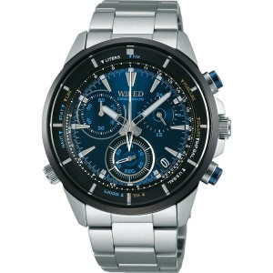 【SALE 30%OFF】SEIKO ワイアード WIRED THE BLUE 「BLUE WIND」 メンズ