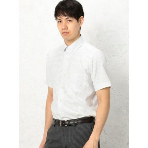 UNITED ARROWS green label relaxing E/I COOL MAX GRP/CHK SBD シャツ ユナイテッドアローズ グリーンレーベルリラクシング【送料無料】
