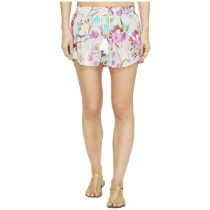 ビタミン A Vitamin A Swimwear レディース 水着 ビーチウェア【Marabella Petal Shorts Cover-Up】Sugar Beach Print...