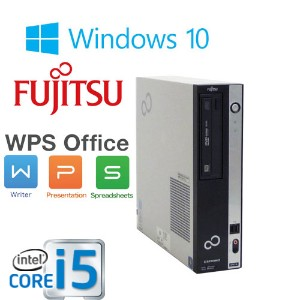 中古パソコン 正規OS Windows10 64Bit /富士通 FMV D582 / Core i5-3470(3.2Ghz) /メモリ4GB /HDD250GB /DVD-ROM /Office...