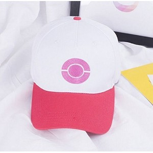 (other) New Hat Anime Cosplay Pokemon Go Pocket Monster Ash Ketchum Trainer Baseball Cap Hat