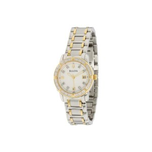 ブローバ Bulova レディース アクセサリー 腕時計【Ladies Sport/Marine Star 98R107】Stainless Steel/White Face