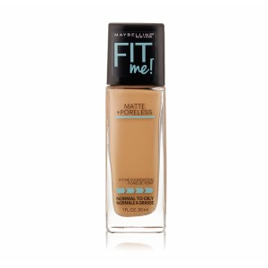 Maybelline New York Fit Me! Matte + Poreless Foundation Warm Honey