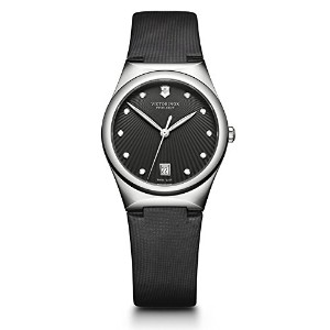 時計 Victorinox ビクトリノックス Women's 241632 Victoria Analog Display Swiss Quartz Black Watch ウィメンズ レディース...