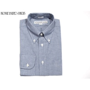 INDIVIDUALIZED SHIRTS(インディビジュアライズド シャツ)/L/S STANDARD FIT B.D. HERITAGE CHAMBRAY SHIRTS/blue