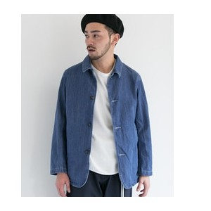 DOORS D'sh Denim Coverall JACKET【アーバンリサーチ/URBAN RESEARCH その他(ジャケット・スーツ)】
