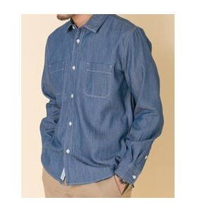 DOORS FORK&SPOON Chambray Work Shirts【アーバンリサーチ/URBAN RESEARCH シャツ・ブラウス】