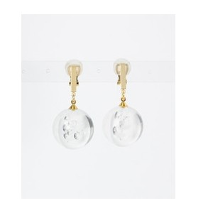 DOORS RLIGHTs CLEAR BALL EARRINGS【アーバンリサーチ/URBAN RESEARCH イヤリング】