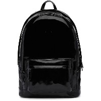 Pb 0110 PB 0110 メンズ バッグ バックパック・リュック【Black Patent Leather CA 6 Backpack】