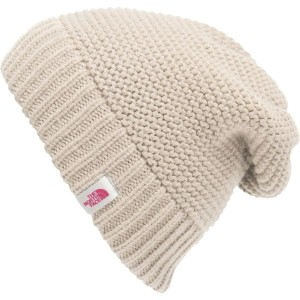 ノースフェイス レディース 帽子 アクセサリー The North Face Purrl Stitch Beanie - Women's Vintage White