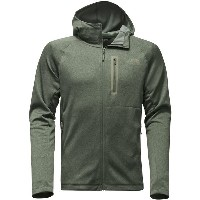 ノースフェイス メンズ ジャケット&ブルゾン アウター The North Face Canyonlands Hooded Fleece Jacket - Men's Thyme Heather