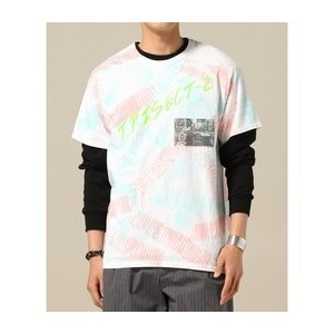 SNMC×TRISECT2 / TIE-DYE TEE TRISECT-2【ジャーナルスタンダード/JOURNAL STANDARD Tシャツ・カットソー】