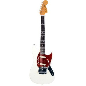 Fender Japan Exclusive Series Classic 60s Mustang (Vintage White) 【数量限定!ギターアンプ VOX Pathfinder10プレゼント...