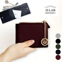 [D.LAB Serendipity] Coin Half Wallet (with Keyring) // dlab