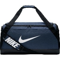 ナイキ メンズ ボストンバッグ バッグ Nike Nike Brasilia 6 Medium Duffel Bag - 3660cu in Midnight Navy/Black/White