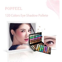 Popfeel Makeup Eye Shadow Shimmer Matte Eyeshadow Palette Set 120 Colors Cosmetic