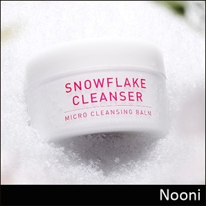 [Nooni] Snowflake Cleanser 120g / Micro Cleansing Balm