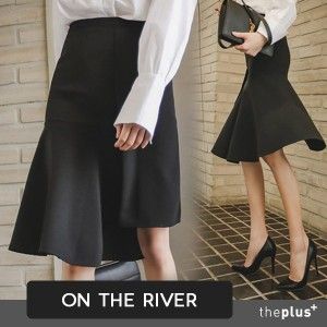 ★ontheriver★ Unbalance Skirts / Flare / Unique / Korean Fashion / Super Sale / K
