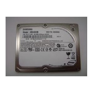 DELL純正 Samsung 1.8インチ ZIF/CE 40pin 40GB 5mm HDD HS04THB