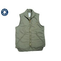 【期間限定30%OFF!】POST OVERALLS(ポストオーバーオールズ)/#1522 EZ-CRUZ PC LIGHT POPLIN VEST/sage