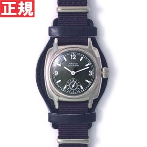 【5%OFFクーポン!5月29日9時59分まで!】ヴァーグウォッチ VAGUE WATCH Co. 腕時計 COUSSIN MIL メンズ クッサンミリタリー CO-L-007-05NV【2016...