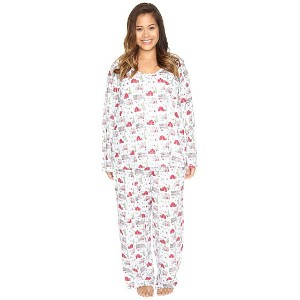 Carole Hochman Plus Size Packaged Novelty Print Pajama