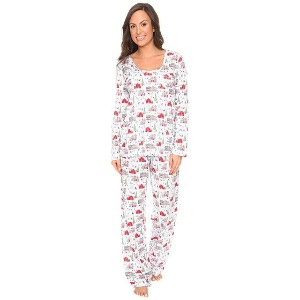 【ポイント2倍!6/22 1:59まで】Carole Hochman Packaged Novelty Print Pajama